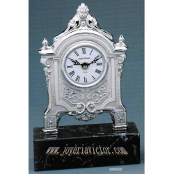 Reloj plata Carlos V Pedro Durán