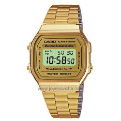 CASIO RETRO DORADO
