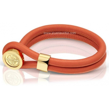 "PULSERA CAMBIO LEATHER ""MI MONEDA"""