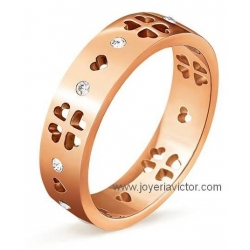 Anillo FOLLI FOLLIE LOVE & FORTUNE
