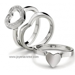 Anillo FOLLI FOLLIE PLAYFUL HEARTS