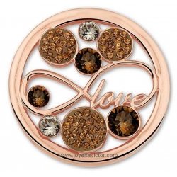 "Moneda SWAROVSKI LOVE ""MI MONEDA"""