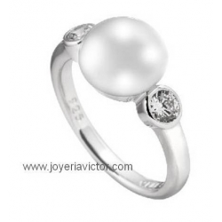 Anillo DIAMONFIRE PEARLS