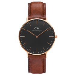 DANIEL WELLINGTON 36mm CLASSIC BLACK St. WAVES