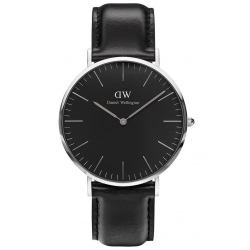 DANIEL WELLINGTON 40mm CLASSIC BLACK SHEFFIELD