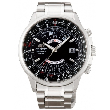 18b41eb0e416 Reloj ORIENT AUTOMATICO BLACK STEEL