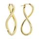 Pendientes Soave Oro -SINGLE TWIST HOOP-