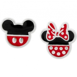Pendientes plata DISNEY MICKEY y MINNIE