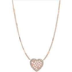 Collar FOSSIL FASHION HEART