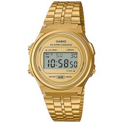 Reloj Casio Vintage REDONDO DORADO