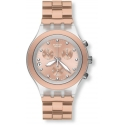 "SWATCH IRONY DIAPHANE CHRONO ""CLASSIC"""