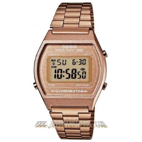 Reloj Casio Retro Dorado Cobrizo
