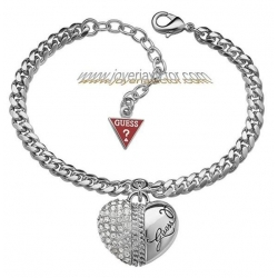 PULSERA GUESS JEWELRY CORAZON