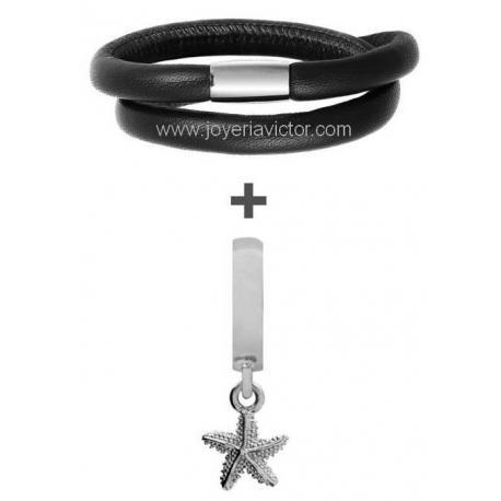 Pulsera ENDLESS DOBLE + STARFISH CHARM