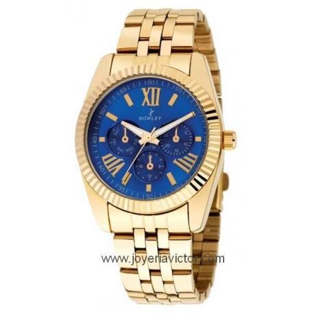 Reloj NOWLEY CHIC DORADO