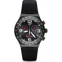 "SWATCH NEW IRONY CHRONO ""Power Tracking"""