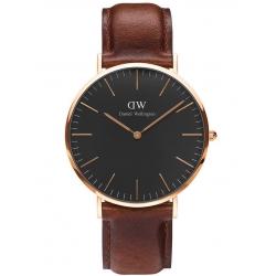 Reloj DANIEL WELLINGTON CLASSIC BLACK St. WAVES